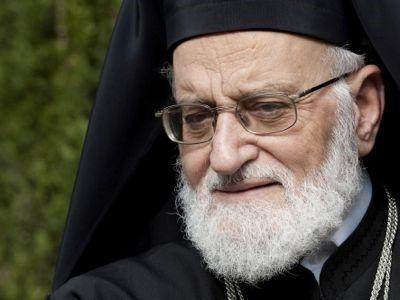 le patriarche melchite Grégoire III Laham 3