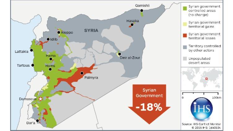 syrie - carte