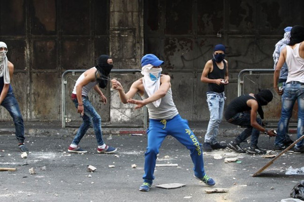 palestine - pierres