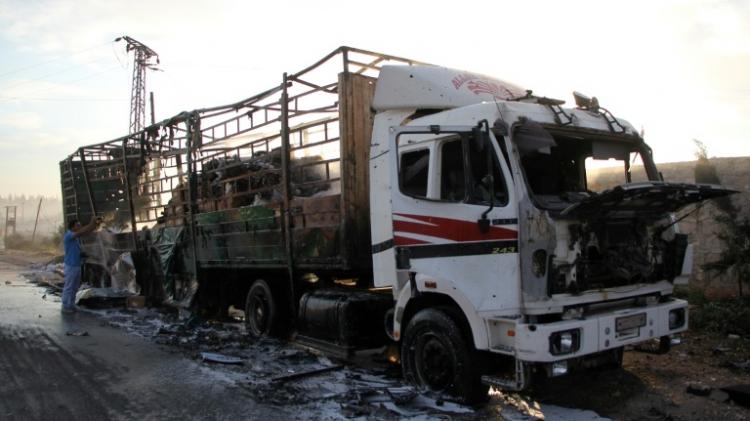syrie convoi alep