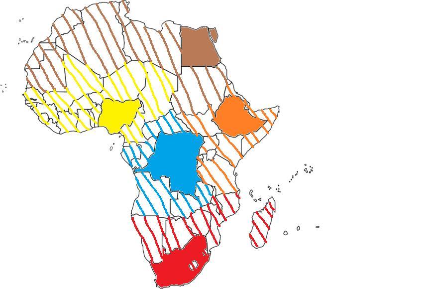 afrique cartes