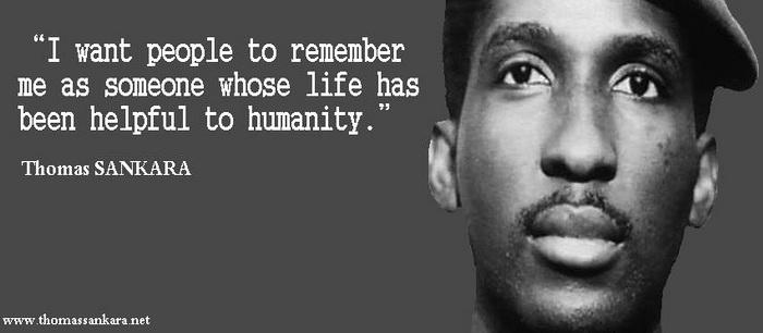 La Patrie Ou La Mort Nous Vaincrons Thomas Sankara