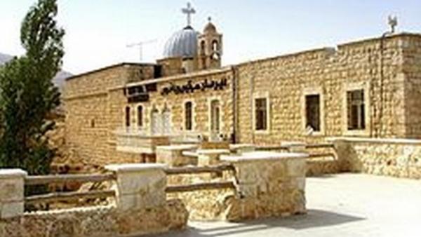 Syrie - Syrie Le monastère de Saint Serge à Maaloula (Photo: Effi Schweizer