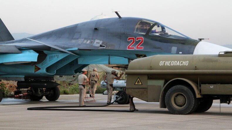 russie - avions lattaquie