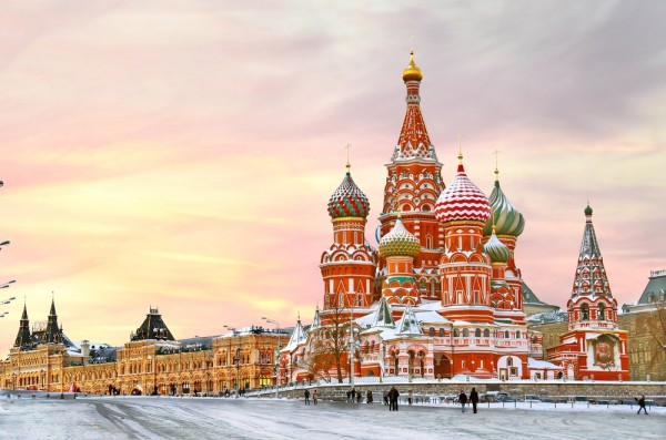russie - moscou neige