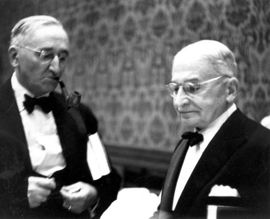 mont pelerin - Mises-Hayek