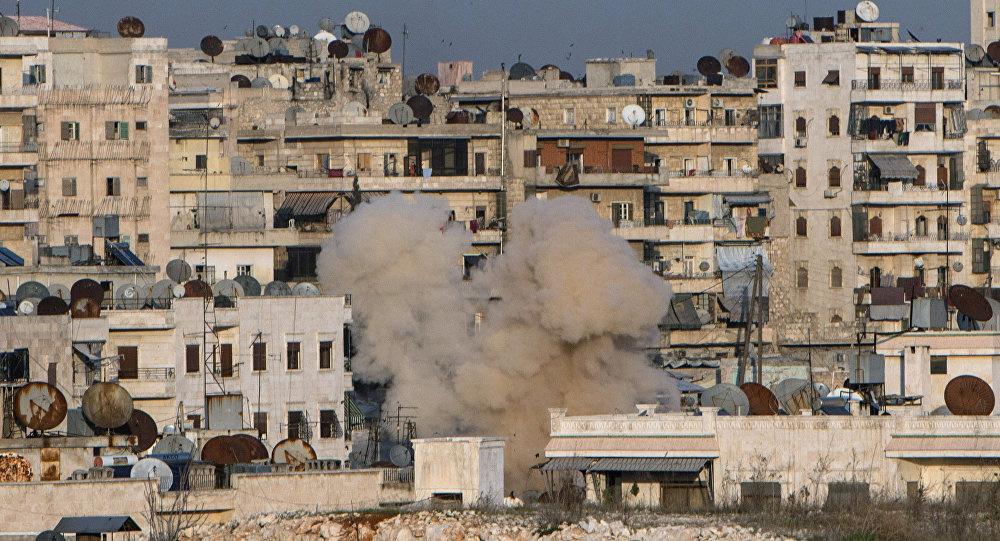 syrie Quartier Cheikh Maqsoud à Alep