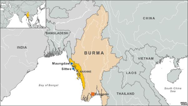 Carte Conflit Birmanie.Crise Des Rohingyas Scenarios De Conflit Et